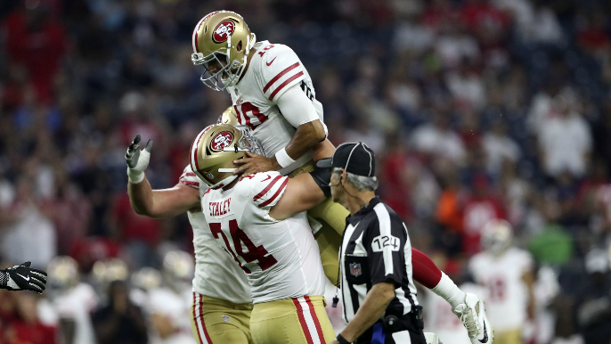 ESPN simulated the entire 2019 NFL season and things go pretty well for 49ers