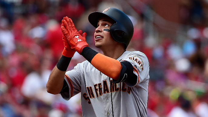 Mauricio Dubon on learning from Brandon Crawford: 'I mean I ask him everything'