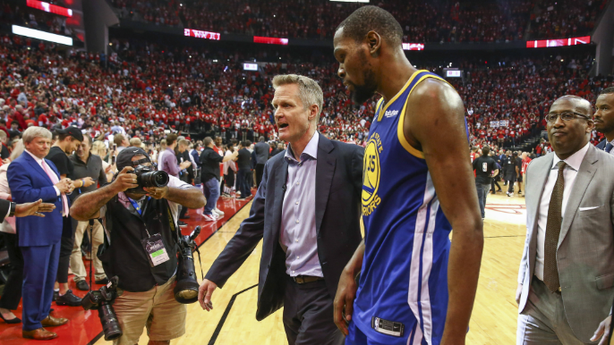 Durant says Steve Kerr's motion offense 'only works to a certain point'