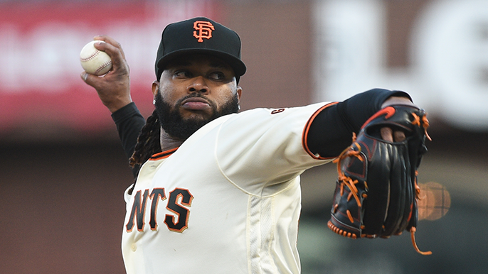 Giants bump up Johnny Cueto, have two-man battle for last rotation spot