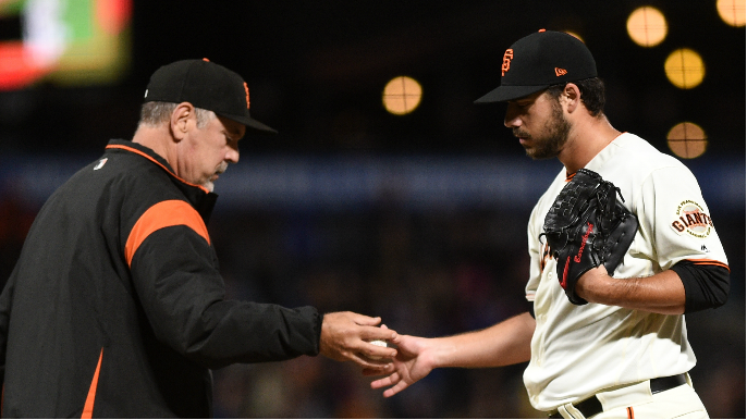 'I know it's in there': Giants' bullpen wild card is fighting to be himself again