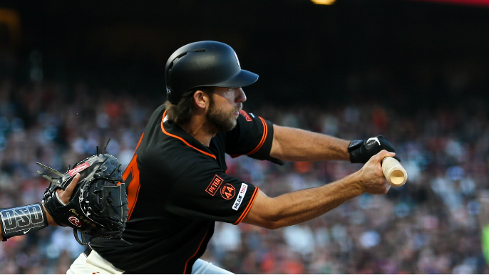 Madison Bumgarner's war with ump is bright spot of more Giants darkness