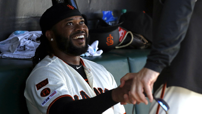 Not even the Giants saw this Johnny Cueto coming