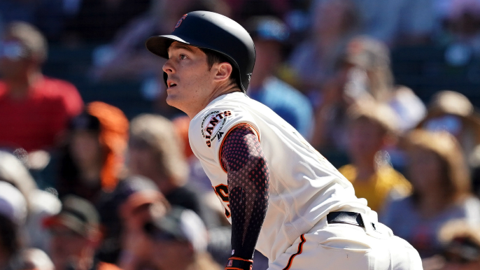 Giants shift Mike Yastrzemski in outfield in Boston nod to Carl