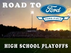Road to Ford Field