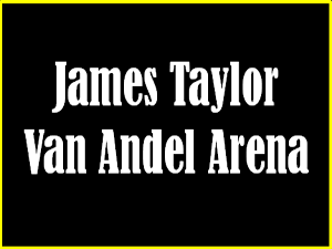 James Taylor and his All-Star Band at the Van Andel Arena in 2018!