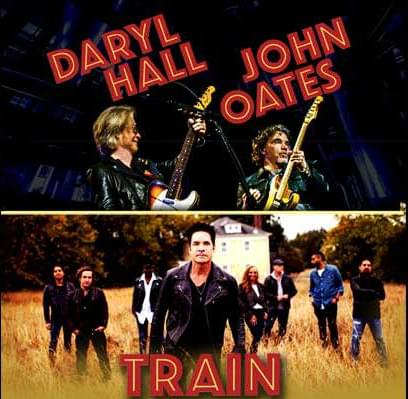 Hall & Oates Featuring Train at Van Andel Arena
