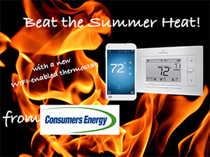 Register to win a WIFI Thermostat!