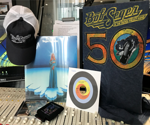 Win a Bob Seger Super Fan Pack!