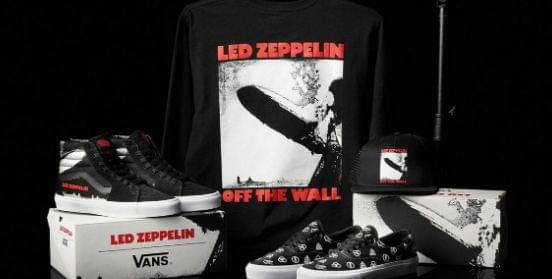 Led Zeppelin partners with Vans