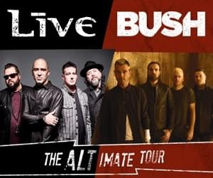 +Live+ and Bush: The Altimate Tour is coming to the Allegan County Fair