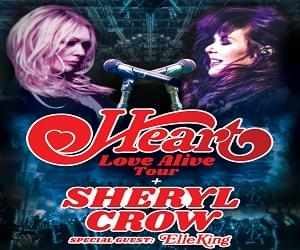 Win Tickets to See Heart in Concert with 97LAV!