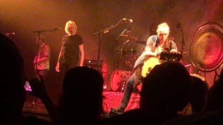Roger Waters joined Nick Mason to play Pink Floyd