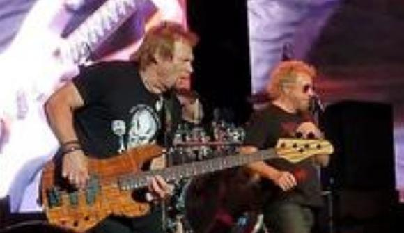 Check Out Footage Of The Circle Covering Van Halen On Opening Night