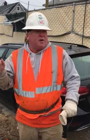 President Trump or construction worker?