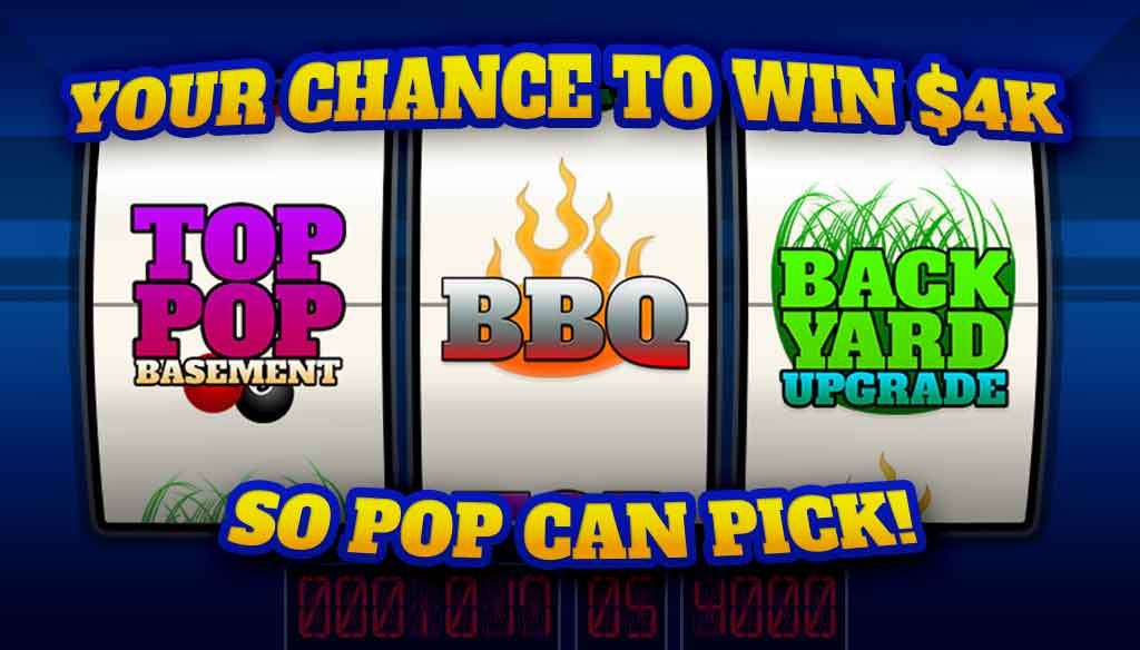 Your chance to win 4k with the Top Pop Giveaway