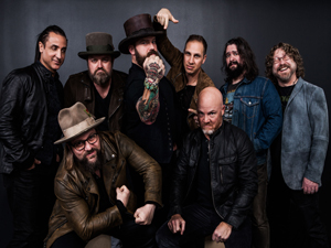 Zac Brown Band at Comerica Park in 2018