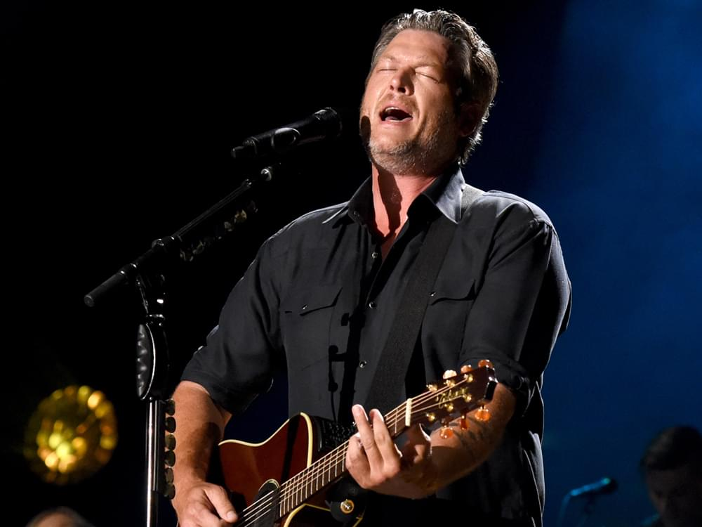 """Watch Blake Shelton's Fearless Performance of """"God's Country"""" on """"The Voice"""""""