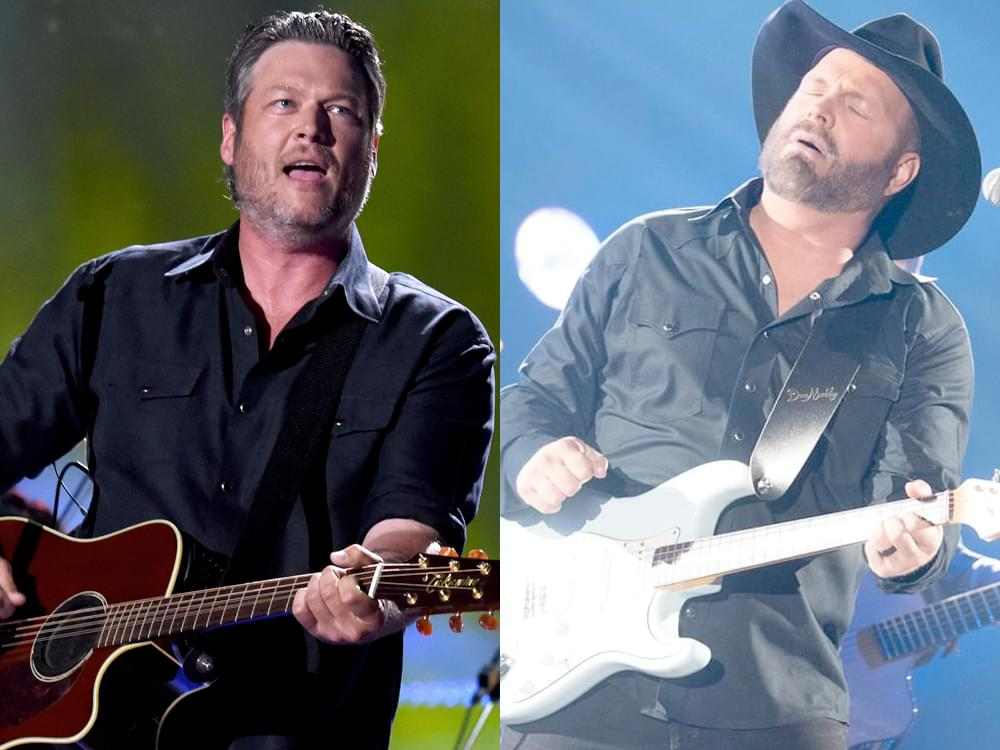 """""""Dive Bar""""—Garth Brooks Releases New Duet With Blake Shelton to Country Radio"""