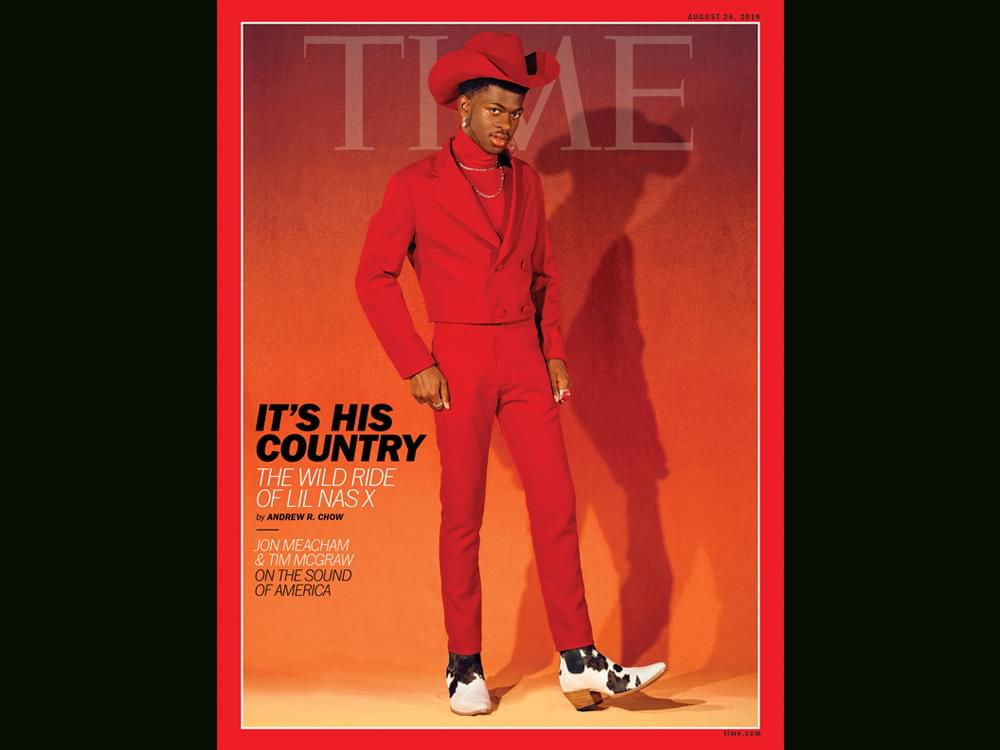 """Lil Nas X on """"Time"""" Cover, While Tim McGraw & Jon Meacham Pen Article on Country Music's Role in Politics & Diversity"""