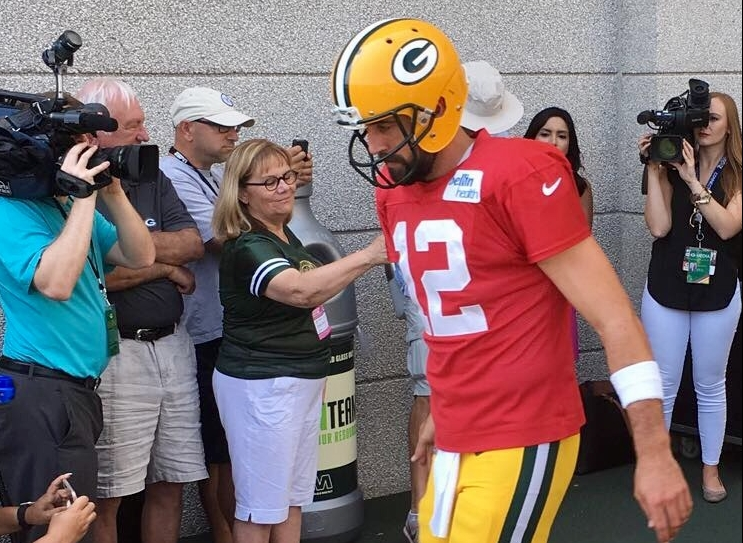 Packers kick off 2018 Training Camp!  See it here!