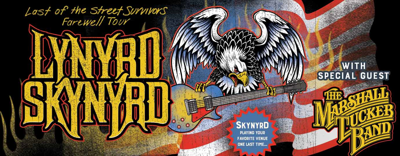 Skynyrd is coming to Green Bay!