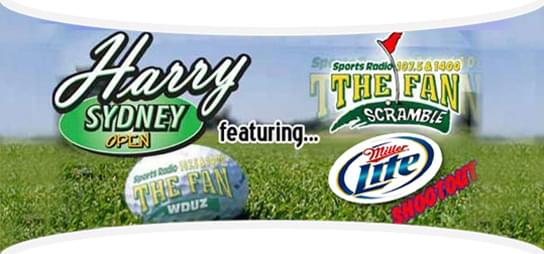 The Harry Sydney Open and Fan Scramble is Monday July 29th!  Sign Up HERE!