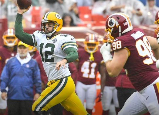 Packers blown out by Redskins