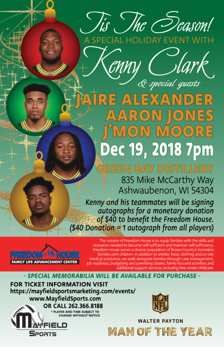 Join us for The Kenny Clark Show on Wednesday and then stick around for a great cause!
