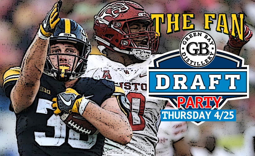 Come Draft with The Fan at the GBD Thursday April 25th….its a Future Players PARTY!