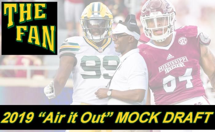 "2019 ""Air it Out"" NFL Mock Draft"