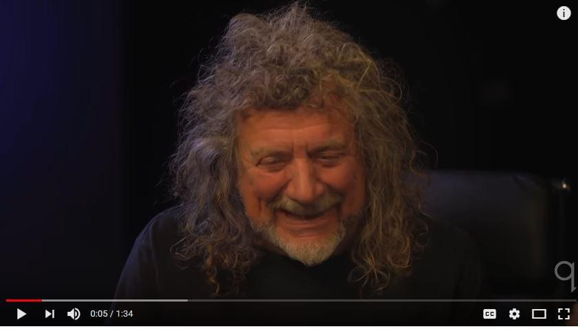 8-year-old girl impresses Robert Plant