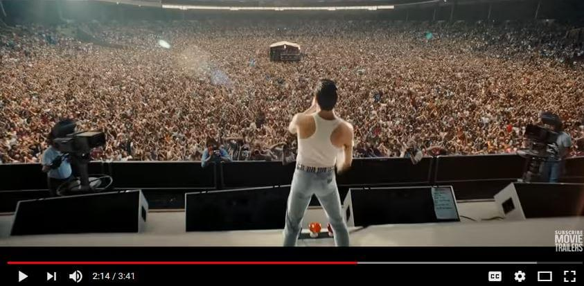 New Trailer for BOHEMIAN RHAPSODY!