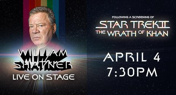 William Shatner Live on Stage