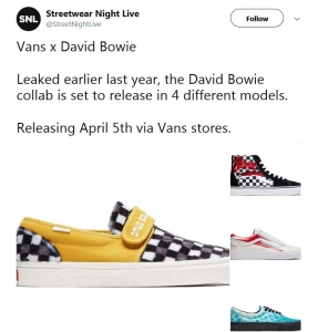 a5fcb9b4c66 Vans announced a limited-edition line of sneakers inspired by David Bowie
