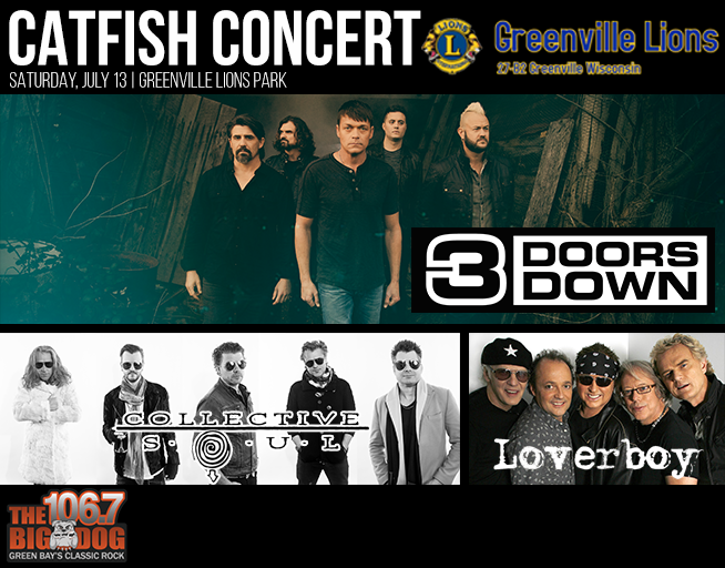 Greenville Lion Catfish Concert
