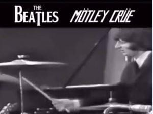 WATCH: The Beatles + Motley Crue Mashup