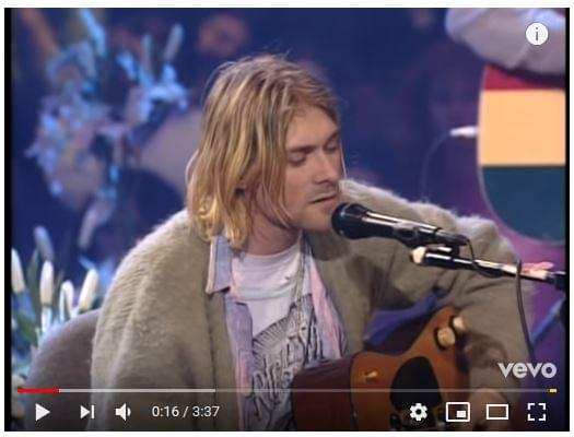 WATCH: Kurt Cobain died 25 years ago