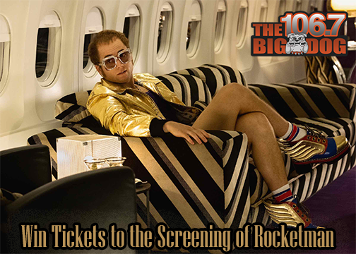 Win Tickets to the Advanced Screening of ROCKETMAN!