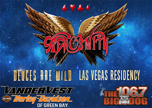 See Aerosmith in Vegas!