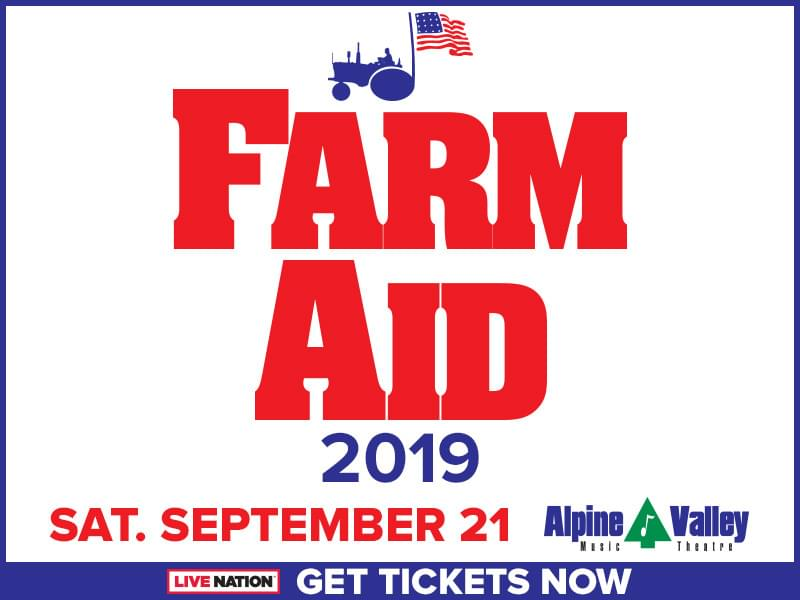 Last Chance to Win Farm Aid Tickets!