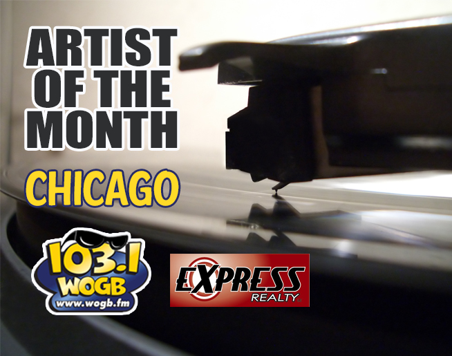 We're Crankin' Chicago all Month at WOGB!