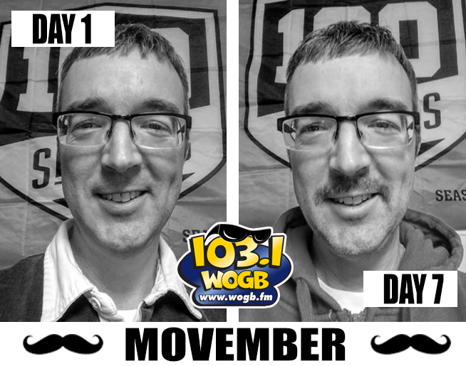Movember with Eric!
