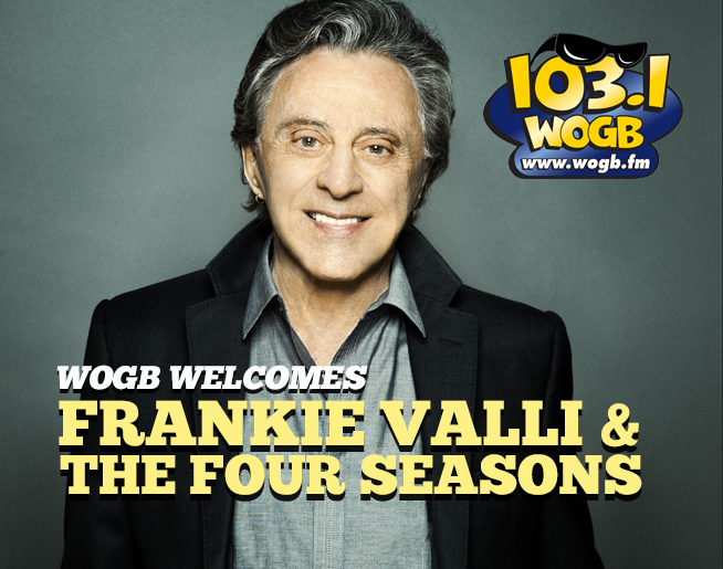 WOGB Welcomes Frankie Valli to Green Bay September 27th!