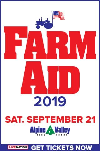 Farm Aid in Wisconsin!  Let's go!