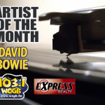 WOGB Brings on Bowie for August as our Artist of the Month!