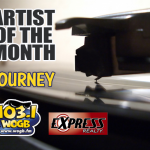 WOGB and our Journey into Fall as we feature Journey, our Artist of the Month!