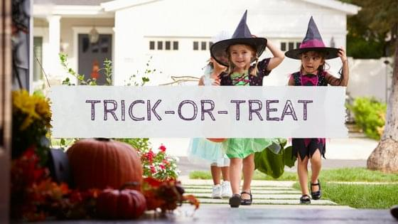 Trick or Treat times for your town!