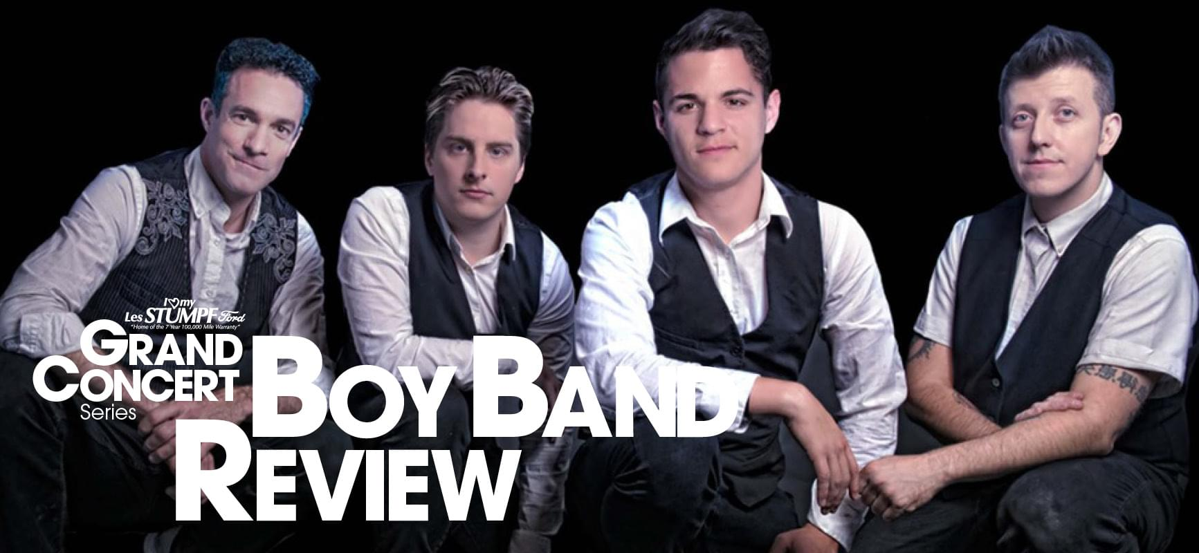 Star 98 Gets Boy Band Crazy all next week with Steve and Laura!