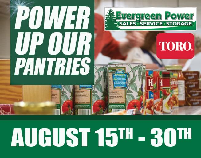 Evergreen Power Food Drive